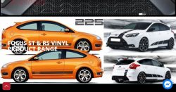 FOCUS ST AND RS VINYL